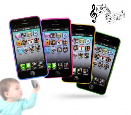 171769 Teléfono móvil infantil para niño y niña con diferentes sonidos y melodías
