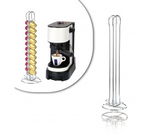 726105 Soporte metálico para cápsulas de café (capacidad para 20 piezas)