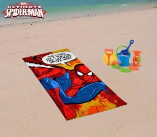 SWE7038 Toalla infantil de playa con motivo de STAR WARS (70 x 140 cm / 100% algodón)