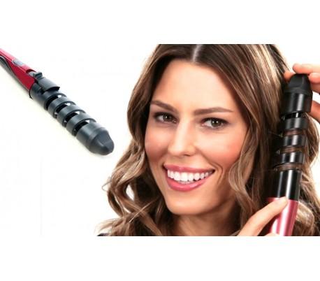Ondulador y rizador pelo con recubrimiento de cerámica para cualquier tipo de cabello