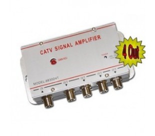 Divisor de señal de tv amplificador divisor 1 a 4