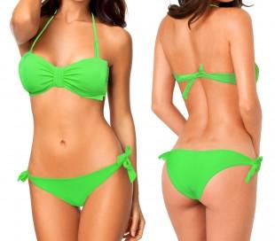 XS5077 BONNY – Bikini con lazo en la parte delantera y braguita a conjunto
