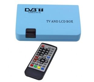 Decoder mini dvb-t digital tv salida usb rec monitor vga