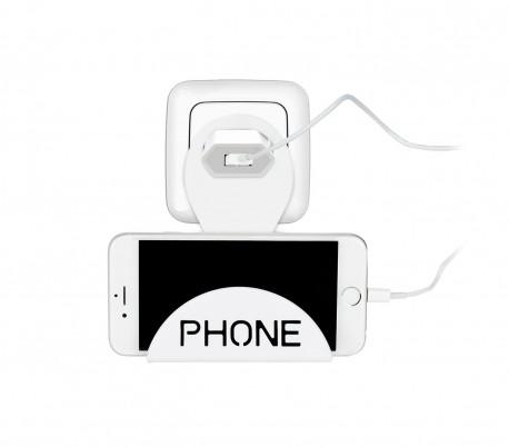 PHONE Base de apoyo para el móvil mientras se carga