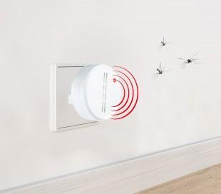 32842 EXTERM - Repelente ultrasónico y a corriente anti-mosquitos (alcance de 25 m2)