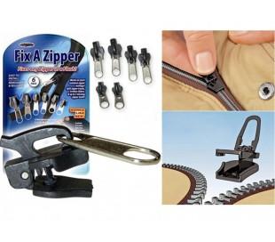 Fix a zipper reparaciones sin coser cremalleras 6 piezas