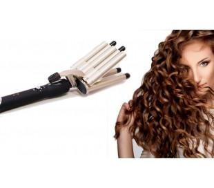 PENTAFERRO - Ondulador y rizador de pelo con recubrimiento de cerámica