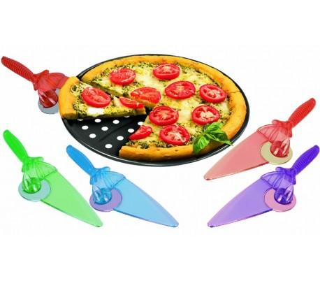 22302 TAGLIA E SERVI - Cortador con pala para pizza (2 en 1)