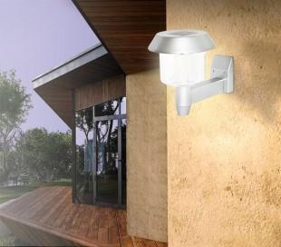 Luces solares mediawavestore mediawavestore for Lamparas led para exteriores