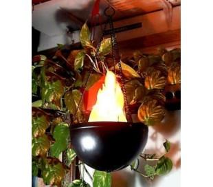 Lámpara enforma de llama - para fiestas - jardines - externos - pub local