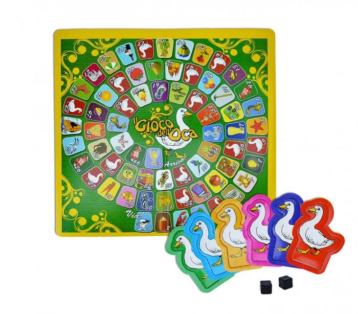 Juego de la oca para jugar en familia con dados y fichas edici n cigio - La oca juego de mesa ...