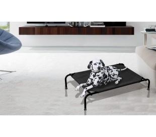 Cama para perros apta para interiores y exteriores TALLA S - 87x58x20cm