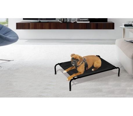Cama para perros apta para interiores y exteriores TALLA M-105x76x20 cm