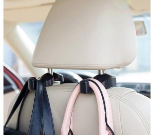 MWS2273 Set de 2 ganchos para bolsos y objetos para el reposacabezas del asiento