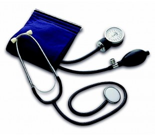 Medidor de presión sanguinea con estetoscópio