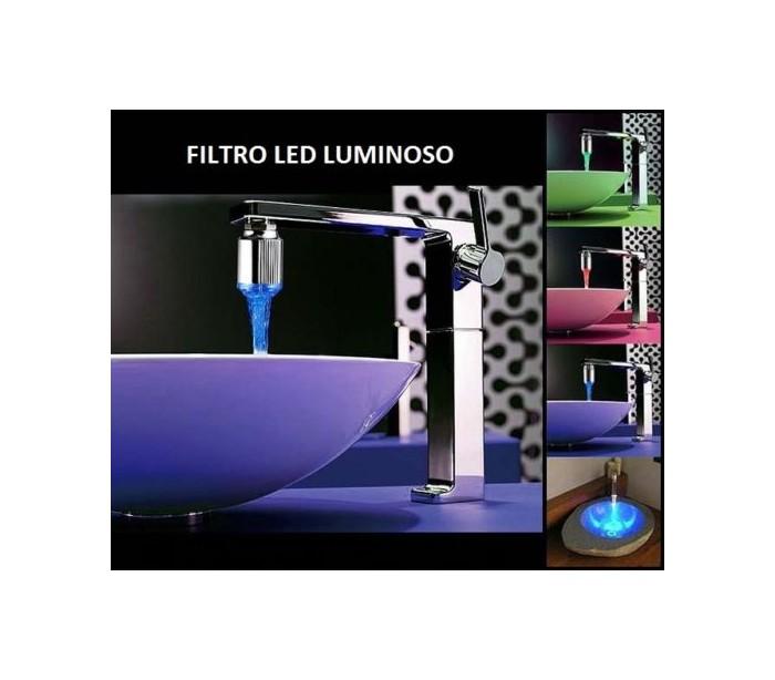 Grifo led rgb cambio de color autom tico for Grifos de colores