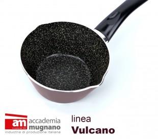 VUCNC14 Sartén cónica antiadherente - Accademia Mugnano linea Vulcano