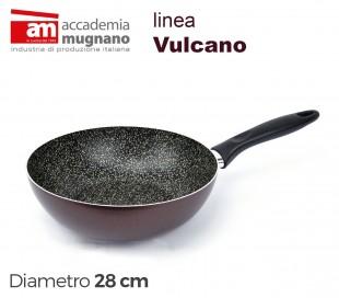 VUSLT28 Sartén saltapasta antiadherente - Accademia Mugnano linea Vulcano 28cm