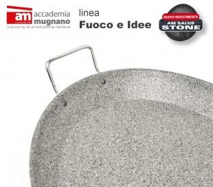 FIPLA236 Sartén cónica antiadherente - Accademia Mugnano linea Fuoco e