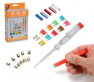 09050 kit de 28 heramientas para reparación de dispositivos electrónicos