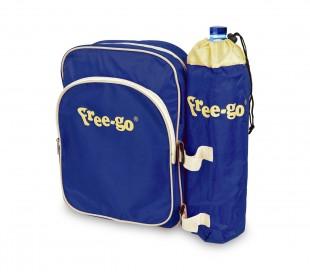 2502T Bolsa térmcica FREE-GO con soporte para botella y bolsillo delan