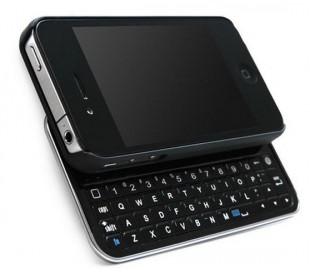 Teclado deslizante bluetooth inalámbrico compatible con iphone 4/4S