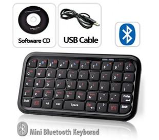 Mini teclado qwerty con funda wifi bluetooth para iphone