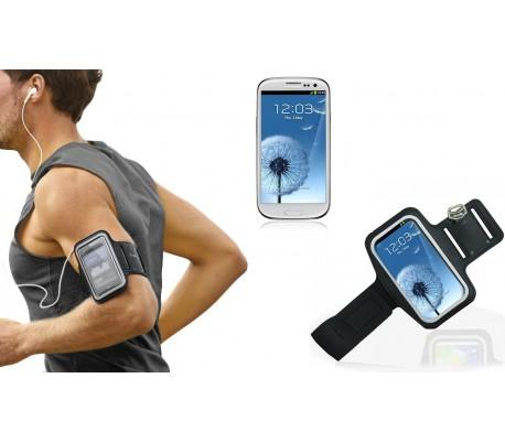 Brazalete depotivo con pantalla táctil compatible con Samsung S3 e Samsung S4