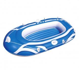 61052 Bestway Bote inflable en 3 colores 197 x 115 cm para niños y adultos