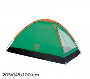 68040 Bestway Tienda de campaña en forma de iglú 2 personas 205x145x100cm