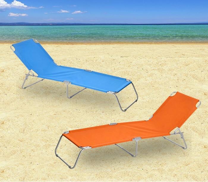 2309 silla plegable con respaldo ajustable para playa o jard n for Hamaca plegable playa
