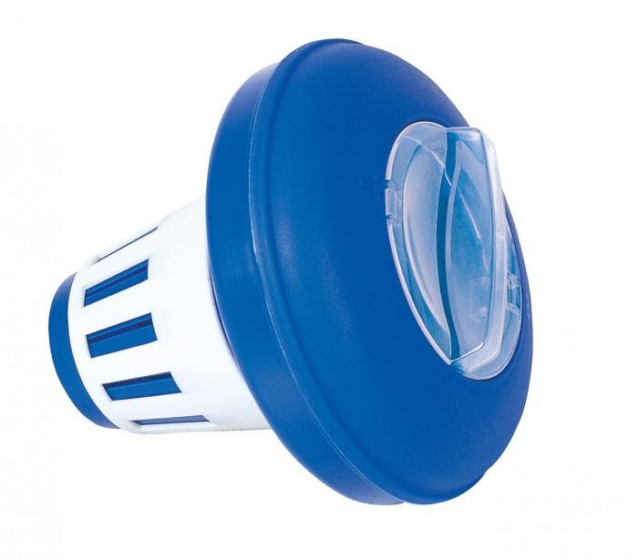 58071 bestway dispensador de cloro flotante para piscinas for Cloro para piscinas