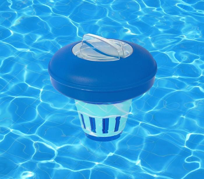 58071 bestway dispensador de cloro flotante para piscinas