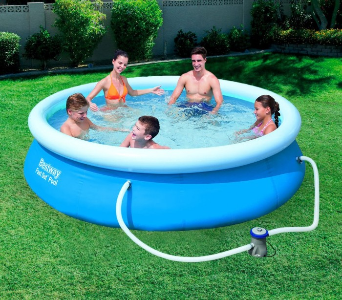 57270 piscina redonda hinchable bestway 305 x 76 cm pvc On piscina redonda hinchable