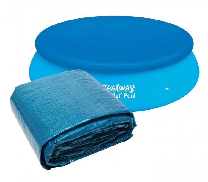 58033 cubierta para piscina de 335 cm bestway en el pvc for Cubierta piscina bestway