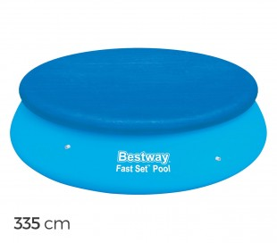 58033 Cubierta para piscina de 335 cm Bestway en el PVC