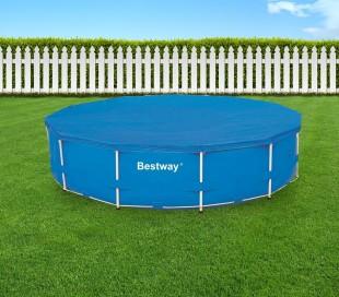 58037 Cubierta para piscina de 366 cm Bestway en el PE