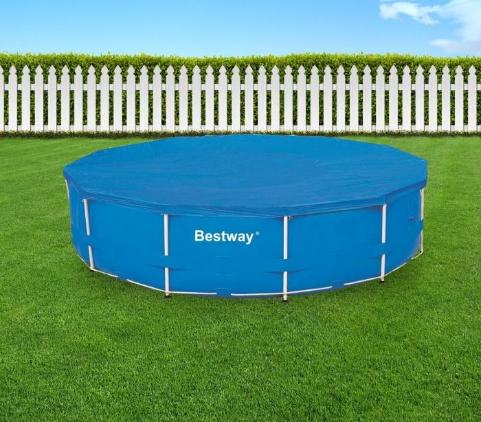 58037 cubierta para piscina de 366 cm bestway en el pe for Cubierta piscina bestway