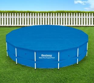 58038 Cubierta para piscina de 457 cm Bestway en el PE