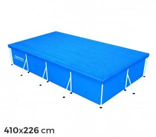 58107 Cubierta piscina rectangular de 410x226 cm Bestway en el PE