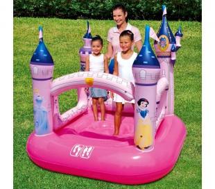 91050 Castillo de princesas Disney inflable Bestway 157x147x163 cm