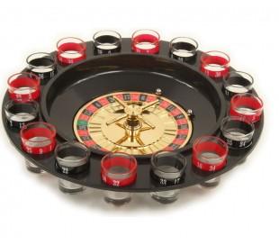 793988 Ruleta con cristalería alcohólica incluyendo juego de beber