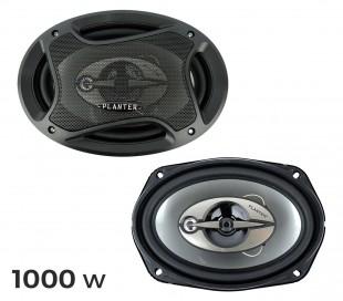 Altavoces coaxiales para coche de 1000w (3 vías, 91 dB)