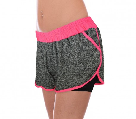 KZ-172 Pantalones cortos reductores para mujer para deporte y gimnasio 64d94a19fbd1e