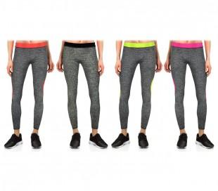 KZ151 Leggings deportivos de mujer de tejido técnico hasta los tobillos