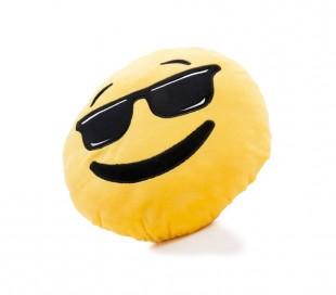 621038 Almohada de emoticono de pequeños corazones emoji 30 cm de diametro