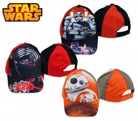 SWE7041 Gorra para niños de Star Wars ajustable y con visera