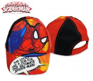 MV92263 Gorra para niños de Spiderman ajustable y con visera